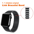 1 1 imitation original 316L Stainless Steel Link Bracelet Band for Apple watch 42mm 38mm quality