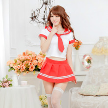 Buy Sexy Erotic Cosplay uniforms temptation +Tie porn Sexy student clothes photos girls school uniform performance costume