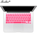 Translucent US English Alphabet Silicone Keyboard Cover For Apple Macbook Air 13 Keyboard Cover Film For