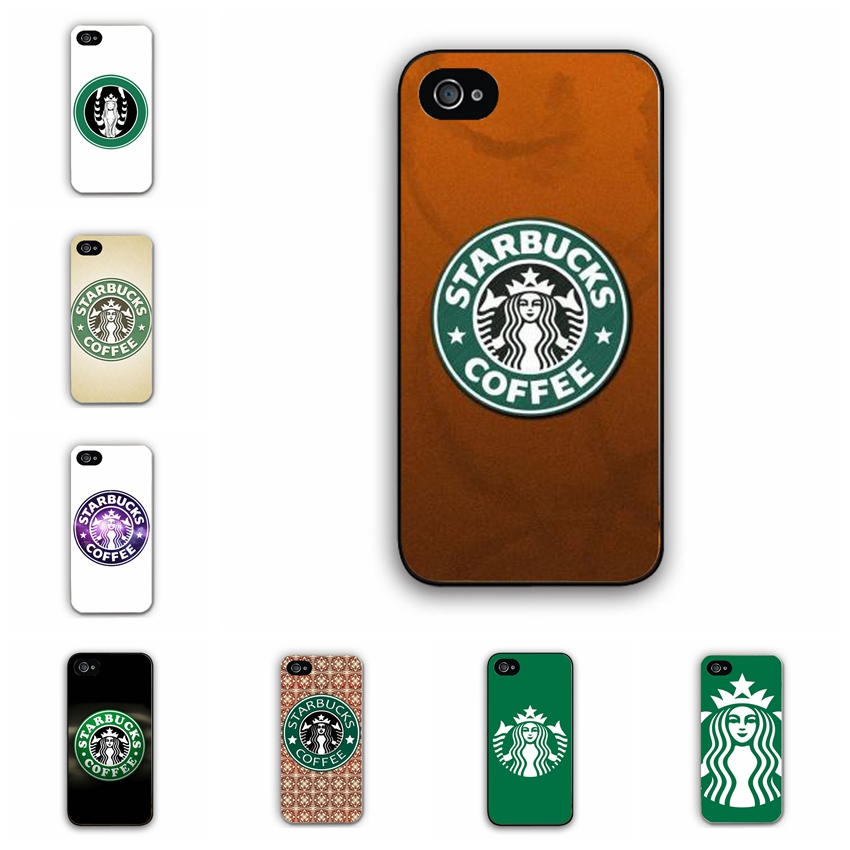 2016 New Fashion Apple iPhone 6 6S 5S 5C 4S Starbucks Case Custom Design Hard Plastic Mobile Phone Cover - iBaty Cute Gift Co., Ltd. store