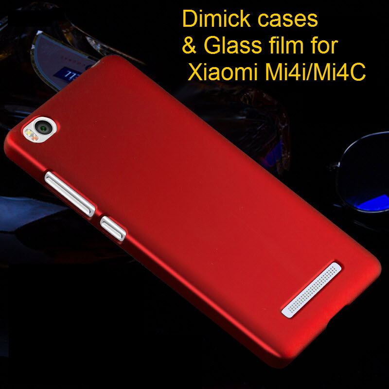 Xiaomi Mi4i case,Dimick Frosted series hard PC back cover case for Xiaomi Mi4i M4i Free shipping