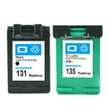 For HP 131 135 Compatible Ink Cartridge For HP131 135 Photosmart 6520 6540 6620series 6830 6840