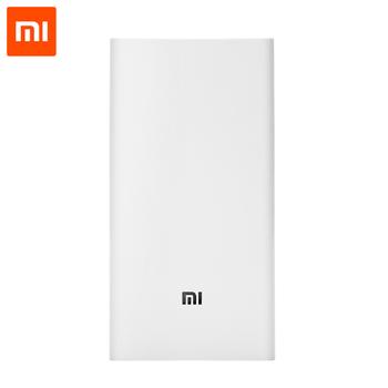 Original Xiaomi Power Bank 20000mAh External Battery Portable Charger Dual USB Powerbank 18650 For 99% of Mobile Phones