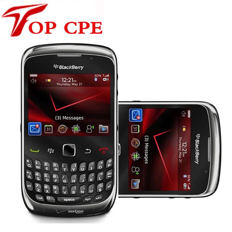 Blackberry 9300 Original Mobile Phone Unlocked phone GPS WiFi GSM Free shipping(China (Mainland))