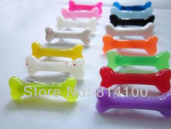 Free Shipping Fashion skeleton bone hair clip hairpin Zombie Punk Bone hairwear hairpin bobby pins 60pcs/lot