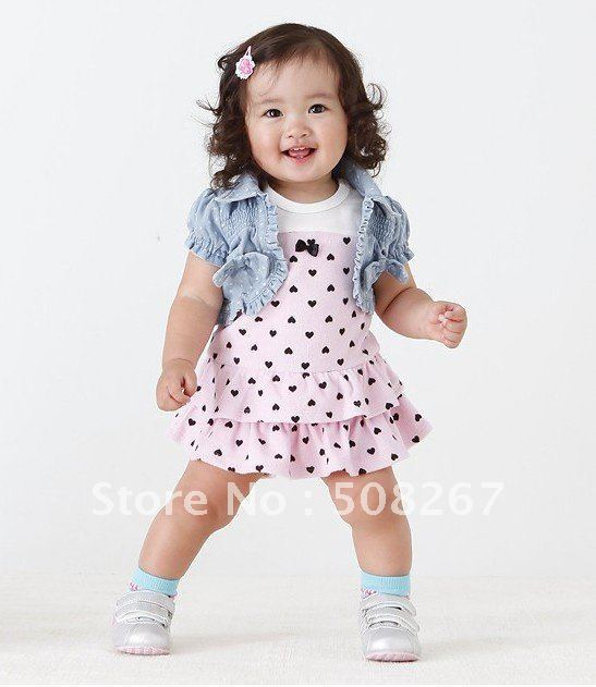 New arrival Baby Girl Skirt set Children Summer Clothes set Baby girl Clothing Kids Fashion summer Wear Baby Fashion dress