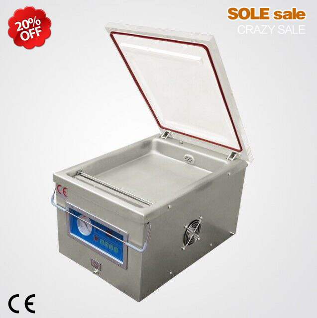 Vacuum packaging sealer aluminum bags sealing machine DZ-260 plastic package sealer food paper booking shrinking sealer packers