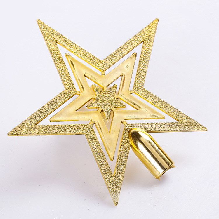 Cheap merry christmas tree star decoration supplies for Christmas tree items list