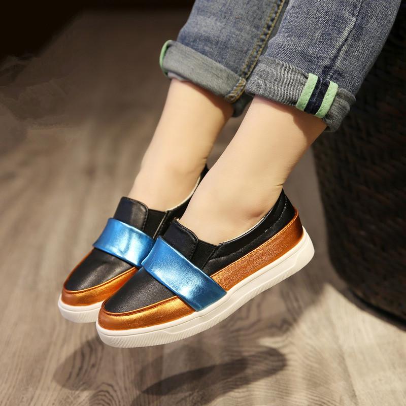 Hot sales 2016 spring autumn new Children s fashion leisure sports font b shoes b font