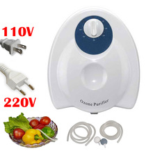 Buy portable ozone generator 400mg/h Fruit Vegetables Food Ozone Generator Water Air Sterilizer Ozone Purifier Disinfection Device for $30.81 in AliExpress store