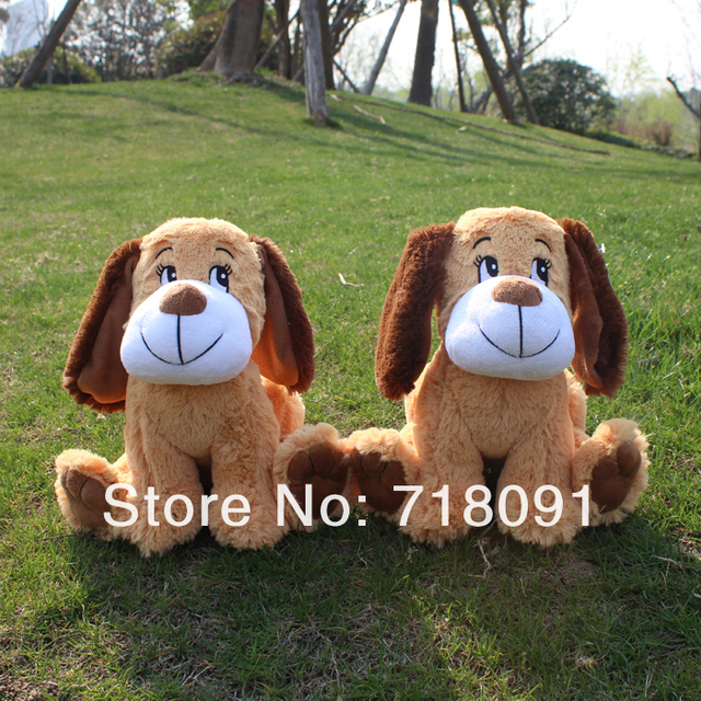 25CM,1PC,Stuffed Plush Toy Dog Animal For Children Promotion Gifts,Drop Free Shipping