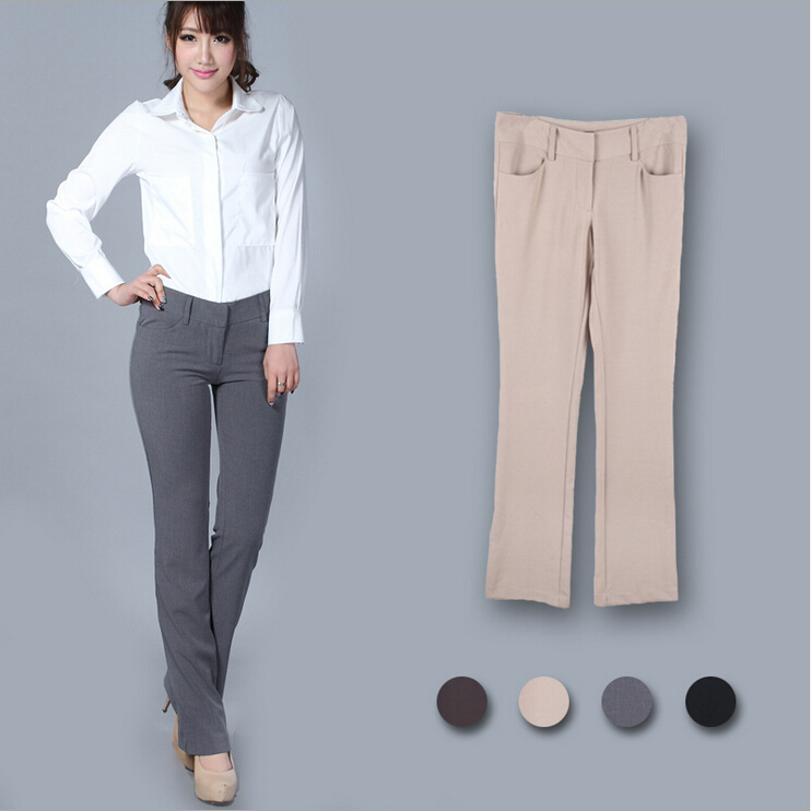 Women Cargo Pants Branded Designed Bodycon Khaki Black Brown Gray ...