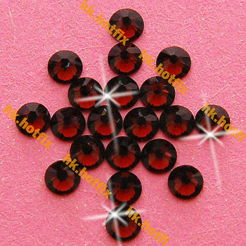 GENUINE Swarovski Elements ss16 Burgundy ( 515 ) 720 Iron on 16ss Hot-fix Flatback Loose Bead Crystal 2038 Hotfix rhinestones