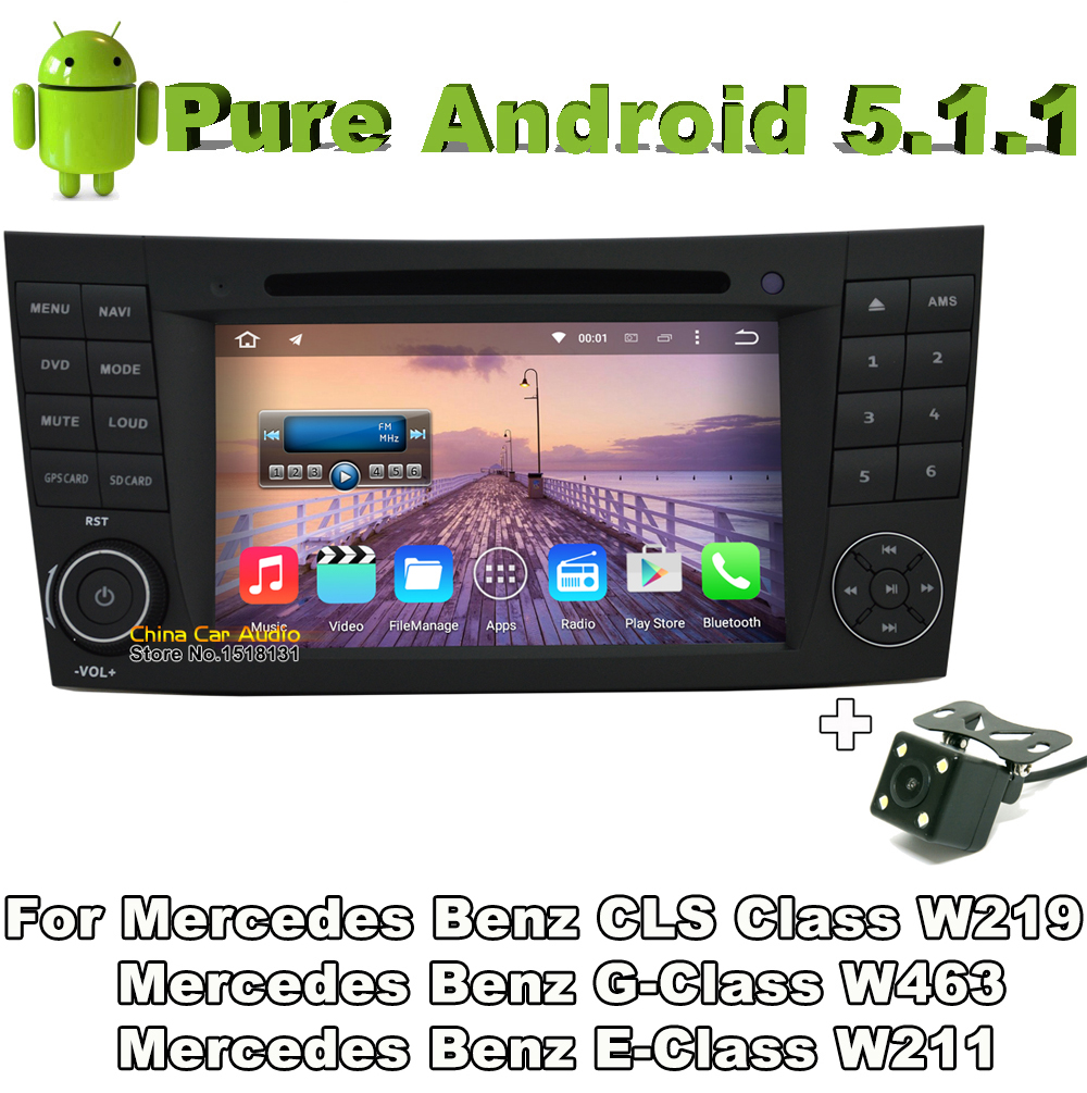 2 din android 5 1 quad core car audio dvd for mercedes for Mercedes benz car audio