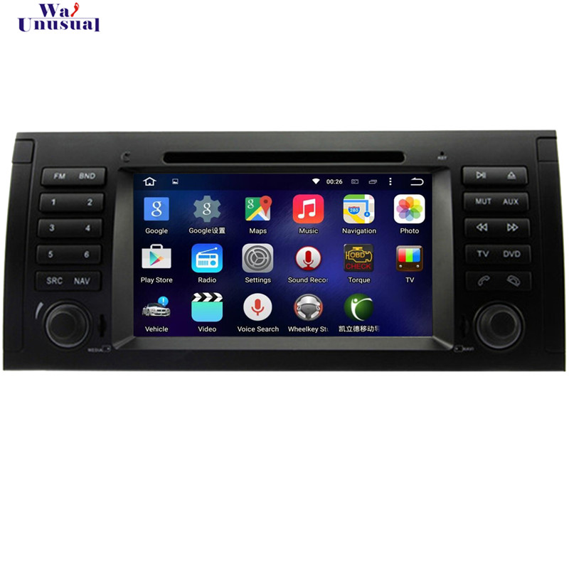 1024*600 1GB Android 5.1.1 Car GPS Navigation For BMW E39 X5 E53 M5 Free Map+DVD+Radio+RDS+Bluetooth+WiFi+AUX+Mirror Link(China (Mainland))