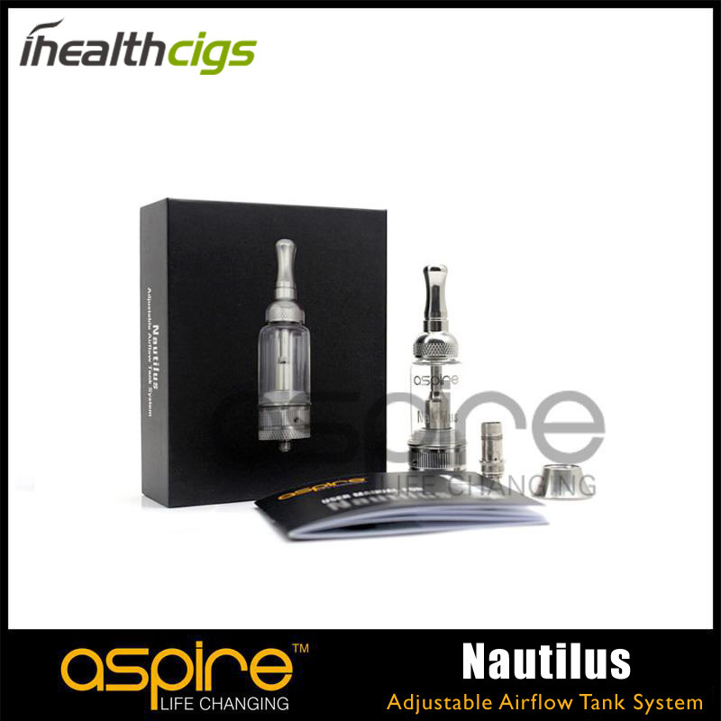 Aspire Nautilus Airflow Tank Aspire Adjustable Airflow 5ml Atomizer Free Shipping 50pcs/lot<br><br>Aliexpress