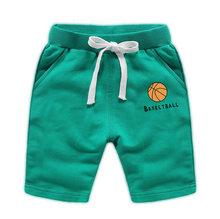 OFCS dla dzieci chłopcy spodenki spodnie dla chłopiec dziewczyny spodenki dziecięce bawełniane sportowe dla chłopców spodenki plażowe dla dzieci chłopięce krótkie ruchu spodnie 2-12(China)