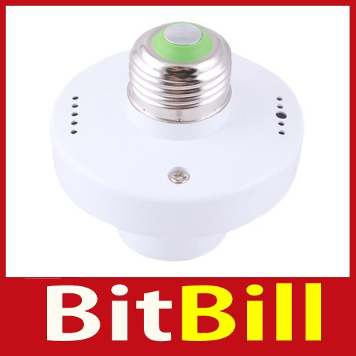 Quality! bitbill Wireless Remote Control Switch Light Bulb Holder Base Socket LK-101 wholesale Special offer(China (Mainland))
