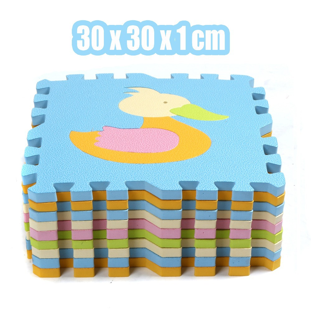 Foam material floor mat for nursery school mat 30*30*1*cm cushion cartoon Antibacterial kid foam ...