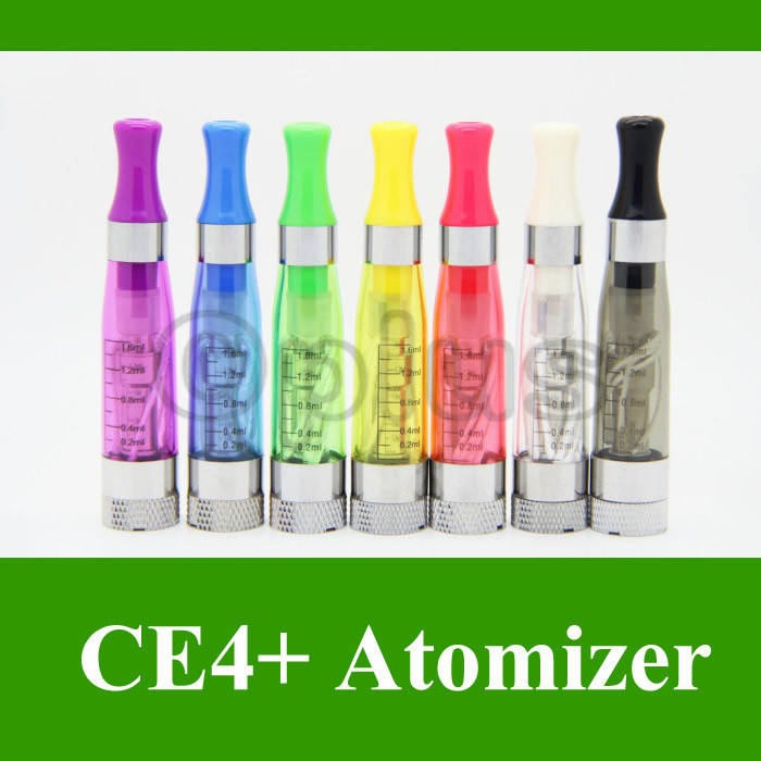 e Cigarette CE6 Atomizer 1.6ml 2.4ohm Candy Color Drip Tips CE4 Plus Clearomizer eGo Electronic - Oplus store