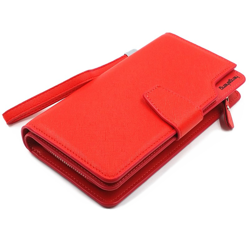 Free shipping new fashion women wallet leather brand wallets women wholesale lady purse High capacity clutch bag for women gift(China (Mainland))