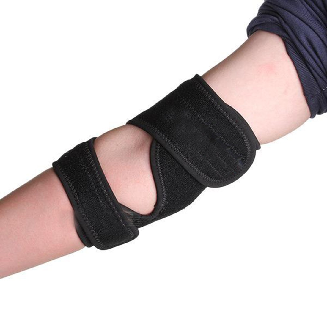 2016 New Arrivals High Quality Tennis Sports adjustable Elbow Elastic Pad Protector Brace Band Support Wrap<br><br>Aliexpress