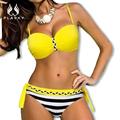 2016 1 fêmea do vintage ver através bodysuit das senhoras oco out toda as mulheres de corpo inteiro Grande plus size swimwear vestido de uma peça maiô