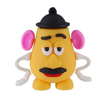 2GB 4GB 8GB 16GB 32GB 64GB Cartoon Toy story Mr Potato Head USB Flash Drives Pen Drive Thumb Memory Stick Pendrive Free Shipping(China (Mainland))