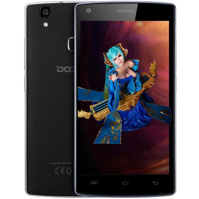 Смартфон DOOGEE X5 MAX Pro 5.0 дюймов 4 Г Android 6.0 2 ГБ RAM 16 ГБ ROM MTK6737 Quad Core 1.3 ГГц Датчик Камеры Bluetooth 4.0