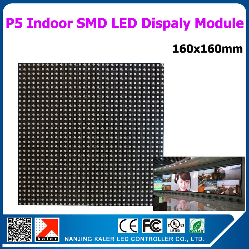 Factory sell 18pcs P5 LED Display Panel 160x160mm P5 LED Screen Billboard Indoor for LED Display Stage Party Wedding Cinema Park(China (Mainland))