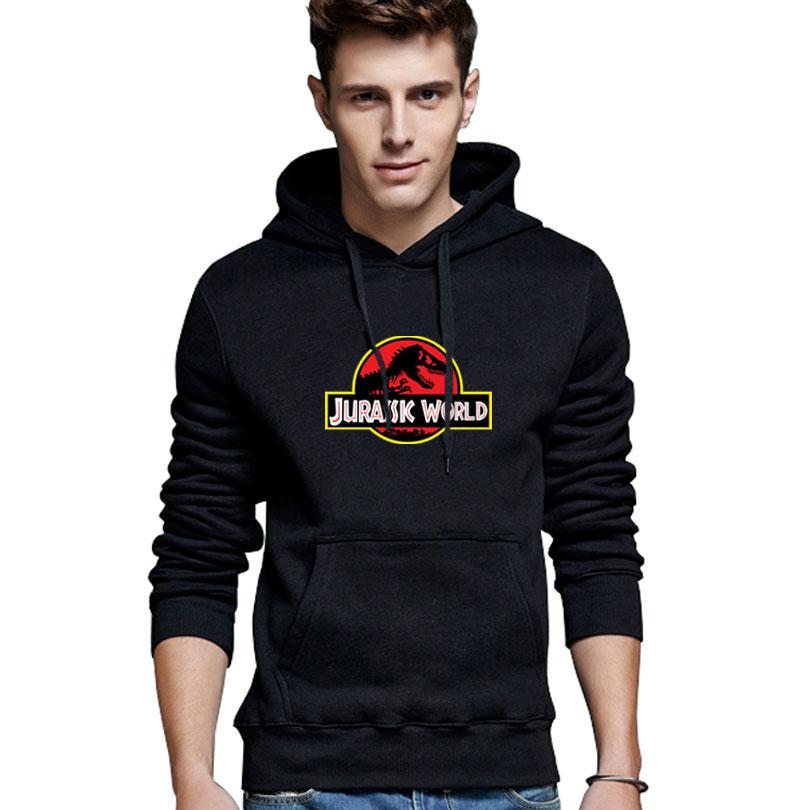 Brand Jurassic World Hoodies Men Casual Sportswear Man Hoody Zipper Long-sleeved Sweatshirt Men Five Colors Slim Fit Men Hoodie(China (Mainland))