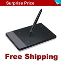 Free Shipping Promotion New HUION 420 4 Professional Signature Pen Tablet Digital Tablet Graphics Drawing Tablet