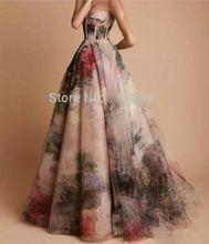 Custom Made Sweetheart Off Shoulder Chiffon Long Prom Dress 2016 Woman Evening Gowns(China (Mainland))
