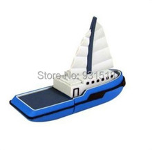Genuine 2G/4G/8G/16G/32G cartoon sailing boat pen drives yatch usb flash drives junk memory stick u disk Drop shipping 100pcslot(China (Mainland))