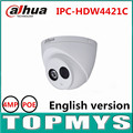 DaHua IP Camera IPC HDW4421C 4MP POE 1080P HD Dome IP Camera Day Night infrared security