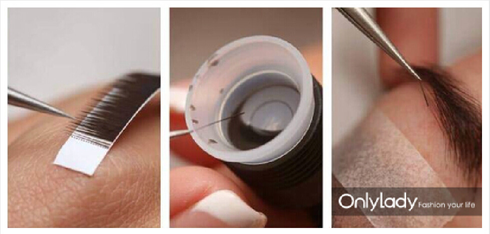 2017 individual soft Eyebrow extension I curl, black, dark brown, medium brown fasion eyebrow