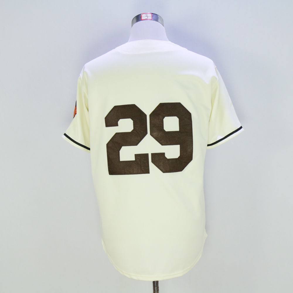 #29 Satchel Paige Jersey Mens St. Louis Browns Jerseys Embroidery and Stitched Throwback Baseball Jersey Free Shippings Beige(China (Mainland))
