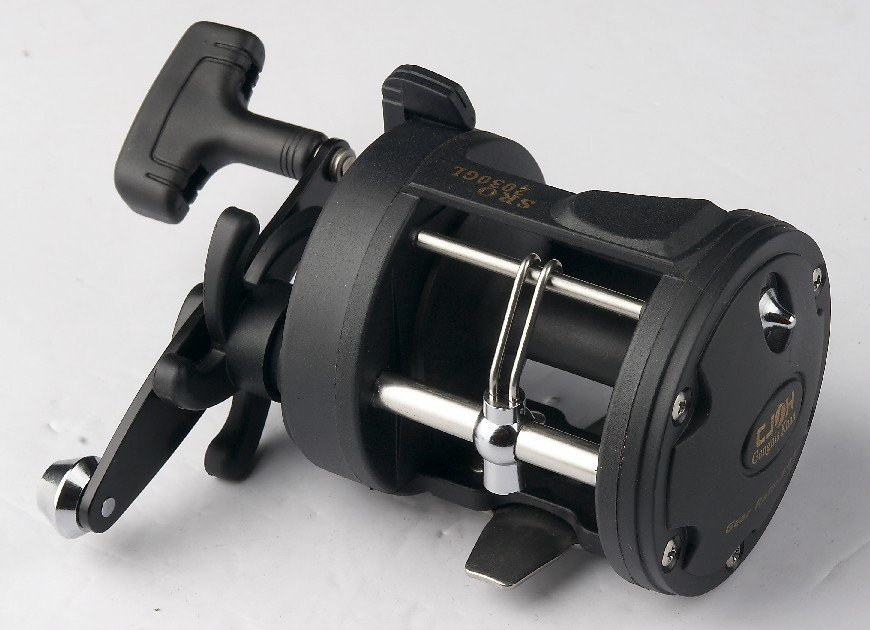 Fishing supplies Classic Trolling Fishing Reel SRO2030GL 1 ball bearing China Post Air Mail Or Ups Saver(China (Mainland))
