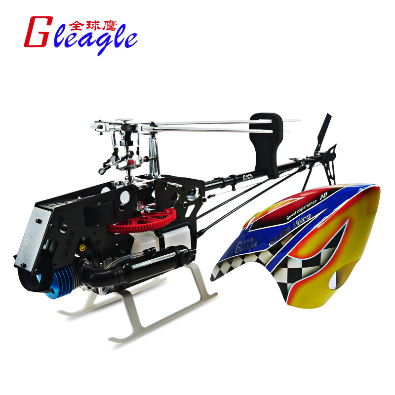 Global Eagle 480N18-DFC450L PNF Fuel Oil Nitro RC helicopter aircraft Unassembled Frame kit - Gleagle Technology store