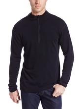 2014 new minus33 Brand 100% Merino Wool Men's Isolation Midweight 1/4 Zip Outdoor Athletic Sport Clothes T Shirt Tops Sweatshirt(China (Mainland))