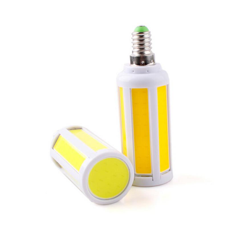 10W 12W 15W E14 COB Corn LED Lamps AC110V 220V 240V Warm White Cool White LED COB Corn Bulb Lights(China (Mainland))