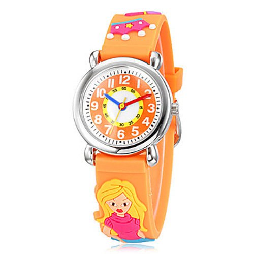 Brand quartz wrist watch baby for girls boys blonde waterproof kid watches children fashion for Watches brands for girl