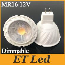 5W 7W Led Dimmable Cob Spotlight Bulb Light GU10 MR16 CRI 85 Warm White / Cool Nature 60 Beam Angle CE&ROHS UL SAA - Eternal Online LED Store store