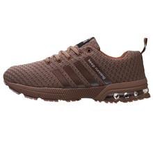 2018 venda Quente Da Moda Sapatos Casuais Para Homens de Alta qualidade Respirável Leves Unissex Lace-up sapatos Masculinos Não- calçado antiderrapante(China)