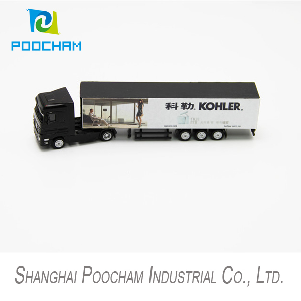 1:87 Diecast Scale Model Truck Miniature Truck Model(China (Mainland))