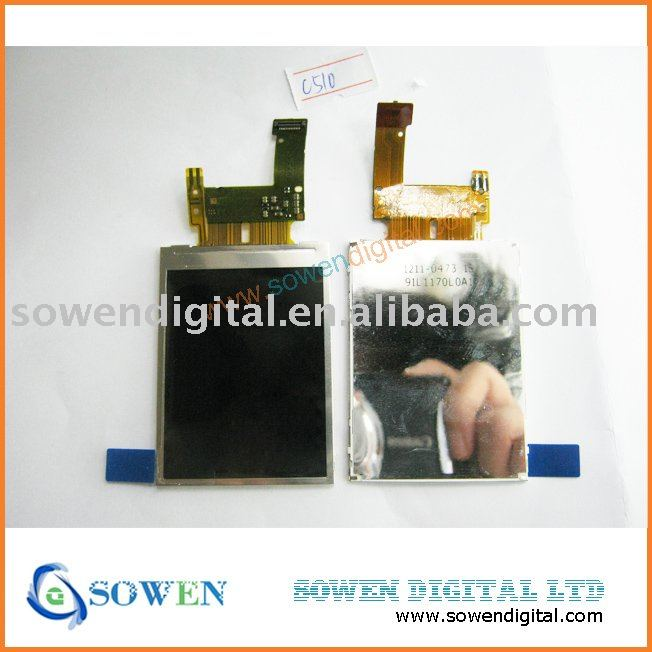 free shipping For Sony Ericsson C510 LCD Best price and wholesale or retail on the aliexpress(China (Mainland))