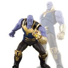Anime figura filme quente 15 cm Vingadores Thanos Infinito Guerra Doutor Estranho Do Homem Aranha Capitão América figura de ação coleção brinquedos(China)