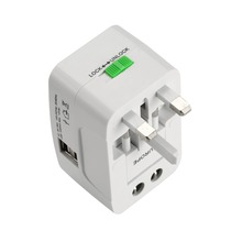 Buy One Universal International Plug Adapter Port World Travel AC Power Charger Adaptor AU US UK EU Converter Plug for $5.23 in AliExpress store