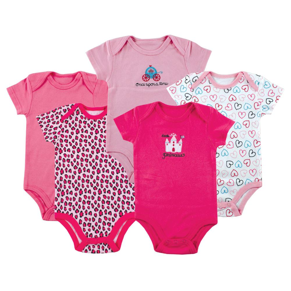 5pcs lot Hanging Football Short Sleeve Baby Bodysuits