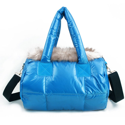 Winter Korean explosion models big bag down jacket shoulder diagonal space female bags Post(China (Mainland))